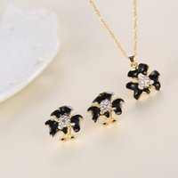 allergy jewelry - The latest fashion style diamond jewelry earrings necklace suit allergy anti fatigue effect Care accessories manufacturers stainle