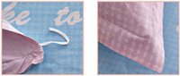 bear comforter set - 100 pure cotton home textile twill cartoon anime Bedding set Bedclothes Duvet cover set Comforter sheet small bears S255