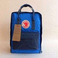 backpack stand - Men and women spot Fjallraven arctic fox Classic Mini backpack waterproof bag