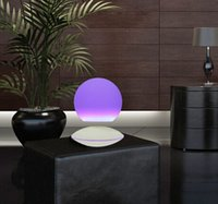 Wholesale 2 dhl Kids Birthday Gift Levitating Led Magic Ball With RGB Light new home hotel decor product