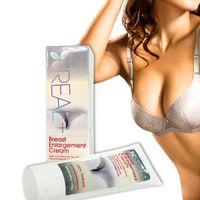Wholesale Real Plus Breast Enlargement Cream Natural Effective Bust Enhancer Cream Big Bust Powerful Breast Enlargement Massager Cream g