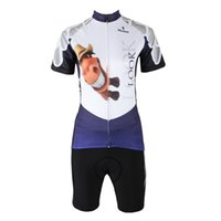 bicycle horse - LATEST PALADIN Women s Lovely Horse Cycling Jerseys Breathable Anti UV Summer White Purple Bike Clothing Quick Dry Bicycle Jerseys