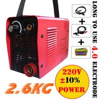 Wholesale Mini V V IGBT Inverter DC welding machine equipment device welders Micro ARC250 stick welder with accessory and eyes mask