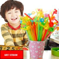 Wholesale Drinking Straw Juice Straw Elbow Straw Colored Cocktail Straw Bar Decorative Paper Straw Cocktails Straw Color Paper Cap Bar Straw JJ75