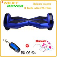 Wholesale 8inch wheel Bluetooth Smart Electric Balance board two wheel Smart Balance Scooter with Anti fire Aluminium Charger