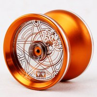 Wholesale New Professional CNC Metal Yoyo Toys Advanced KK Bearing Aluminum High Precision Game Special Props Dead Sleep