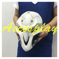 Wholesale Handmade Reaper Mask Mask Cosplay Reaper Props Halloween Video Game New
