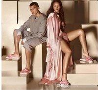 Wholesale RIHANNA LEADCAT FENTY Slipper Rihanna X PU MAS Leadcat Fenty Faux Fur Slide Sandal Fashions Women Fenty Slippers Fenty Slide Sandals