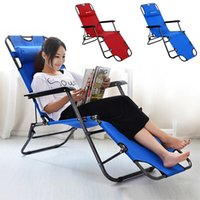 beach chair furniture fold - Outdoor furniture cm deck chair longer leisure folding beach chair stool sling recliner camping lounge chairs bed