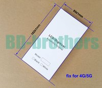 Wholesale x x mm Wihte Paper Box EVA Filler Case for iPhone G G LCD Screen Full Set Protective Packing Package sets
