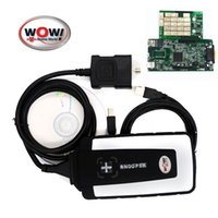 better code - wow V5 R2 Software CDP WOW Snooper better than CDP For Car and Truck obd2 professional Diagnostic Tool tools obd scanner
