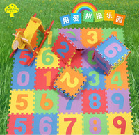 Wholesale 5sets cm set Puzzle carpet baby play mat floor puzzle mat EVA children foam carpet mosaic floor Hot selling