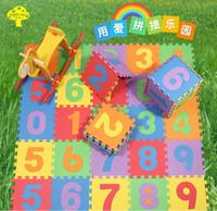 Wholesale 5sets cm set Puzzle carpet baby play mat floor puzzle mat EVA children foam carpet mosaic floor Hot selling