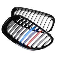 Wholesale Gloss Black M color Front Upper Kidney Grille For BMW E60 E61 E61 i i M5 Series