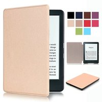Wholesale Accessory Karst Ultra Slim Folio Leather Case Cover Skin For Amazon ALL New Kindle th Gen quot E reader