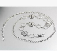 Wholesale women mm noosa button body chain snap button body jelwery Belly Chains women interchangeable button chain diy hanmade jelwery acccessories