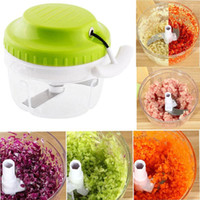 baby processor food - Manual Meat Grinder Mincer Spice Vegetable Chopper Cutter Baby Food Processor Multifunction Kitchen Tool