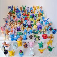 Wholesale 144pcs poke figure toys mini cartoon pikachu charizard model Japanese PVC figure toys for children for Halloween gifts toys