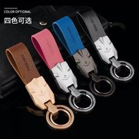 Wholesale 2016 Smart key chain Car Key chain Anti lostTiida Graffiti Smart Car Key Case Cover Chain Ring Bag Auto Accessories