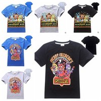 Wholesale Kids Five Nights at Freddy s T Shirts Five Nights Shirts Boys Five Nights at Freddy s Tops Five Nights Freddy Tees Sweatshirt B474