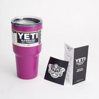 big coffee cups - Big Capacity oz Yeti Mug Bilayer StainlessSteel Insulation Cup Cups YETI Rambler Tumbler Coffee Cup Vehicle Beer Mugs