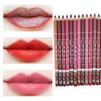 Wholesale Lipliner Colors Waterproof Lip Pencils Eyeliner Lipliners Lip Eye Liner Pencil MakeUp waterproof lip liners pencil