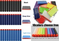 Wholesale New Nerf N strike Elite Rampage Retaliator Series Blasters Refill Clip Darts Soft Nerf Bullet Colors Choose free Ship