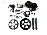 Wholesale 48v w Fun Bafang Motor BBS02 Crank Motor Eletric Bicycle Ebike Kits With C961 LCD
