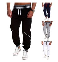 Wholesale Mens Harem Pants New Style Casual Skinny Sweatpants Sport Pants Trousers Drop Crotch Jogging Pants Men Joggers Sarouel