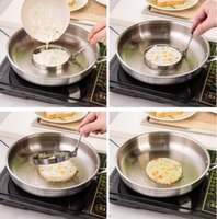 Wholesale Stainless Steel Fried Egg Mold Pancake Mold cooking tools Kitchen Tools Pancake Rings Cooking Egg Mold styling tools Kitchen Gadgets