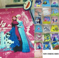 Wholesale 150 cm Korea Cotton Kids Bedroom Cartoon Carpet Living Area Rugs Baby Cushion Crawling Pad Frozen Minions Printing Picnic Mats