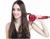 Wholesale Titanium Auto Hair Curler With Hair Care Styling Tools Ceramic Wave Hair Roller Magic Curling Iron Hair Styler