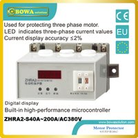 Wholesale Motor Protector for protecting three phase motor applied in Water Pump ZHRA2 S40A A AC380V wth digital display