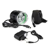 Wholesale CREE XML XM L T6 LED Bicycle Bike Headlight Head Light Lamp LM
