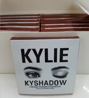 Wholesale hot selling Kylie Cosmetics Jenner Kyshadow eye shadow Kit Eyeshadow Palette Bronze Preorder Cosmetic Colors Free DHL