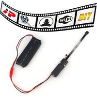 Wholesale 8GB Covert DIY Module Wifi IP Wireless Hidden Spy Home Security Camera Video Audio Recorder For Android iOS Smartphone