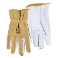 Wholesale Work Gloves Deer Leather Driver Gloves Welding Glove Comfoflex Top Grain Deerskin Leather Work Glove