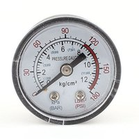 Wholesale cm Male Threaded quot Dia PSI Pneumatic Air Gas Pressure Gauge