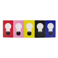 achat en gros de led emergency light-Carte LED Lampe de poche LED Flashlight Briquets Portable Mini lumière mettre en Purse Wallet Taille Lumière d'urgence Outil extérieur Portable 250301