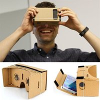 Wholesale Cardboard Virtual Reality D Glasses VR Video Film For Android Phone DIY Hot Selling