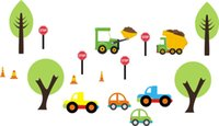 baby transportation - Transportation Kids Repositionable Reusable Wall Decals Baby Nursery quot x quot
