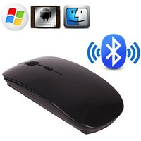 Wholesale Slim Bluetooth Wireless Mouse Optical Mice for Windows Android Macbook H210519