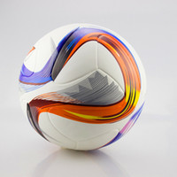 Wholesale high quality United Cup standard football PU wear resistant heat sealed seamless soccer ball