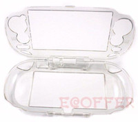 Wholesale Nintendo Cases Protector Carystal Case For Ps Vita Hard Clear Plastic Crystal Case Cover Skin For Ps Vita