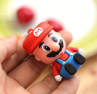 100% Capacité de capacité réelle Drive USB Super Mario Cartoon Memory Stick USB Flash Drive 2 Go 4 Go 8 Go 16 Go 32 Go