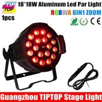 Wholesale TIPTOP New W RGBWA UV IN1 Led Zoom Par Light DMX Channels Taiwan Tianxin Leds CE ROHS Indoor Led Digital Display