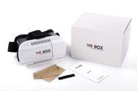 Wholesale DHL Head Mount Plastic VR BOX Version VR Virtual Reality Glasses Rift Google Cardboard D Movie for quot quot Smart Phone
