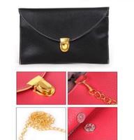 Cheap 2016 hot sale Womens Envelope Clutch Chain Purse Lady Handbag Tote Shoulder Hand Bag free shipping