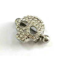 Wholesale Surgical Steel Skull Nipple Shield Ring Body Piercing Jewelry G Unique Nipple Rings High Quality Nipple Piercing