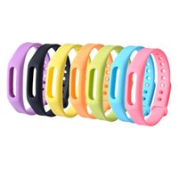 Wholesale Xiaomi Miband Smart Wristband Sillicone Replace Belt Strap Mi Band Bracelet Replacement Band Accessories On Wrist colors